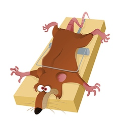 A Rat in the Trap vector image vector image