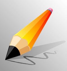 pencil design vector image