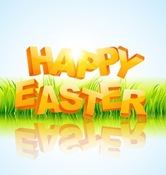 creative happy easter vector image vector image