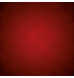 Elegant Deep Red Silk Royal Flower Pattern vector image