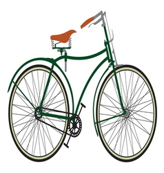 Retro bike3 vector image