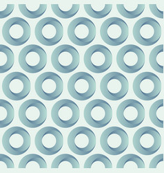 abstract seamless pattern of circles vector image