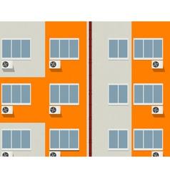 Apartment buildings vector