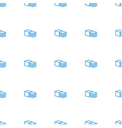 Bandage icon pattern seamless white background vector
