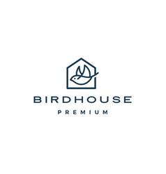 bird house logo icon vector image