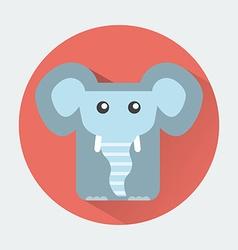 Elephant Baby Animal Icon vector