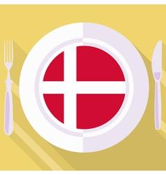 Kitchen of Denmark vector