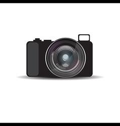 mirrorless camera vector image