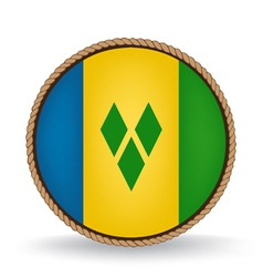 Saint Vincent And The Grenadines Seal vector image