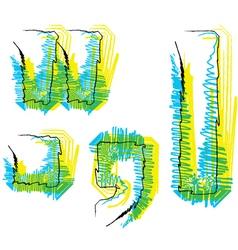 Sketch Symbol vector image