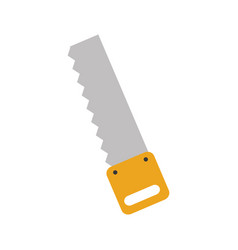woodworking saw isolated icon vector image