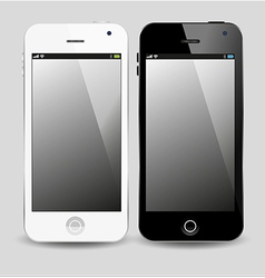 modern smartphone vector image vector image