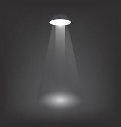 Created lamp light glow in the dark vector
