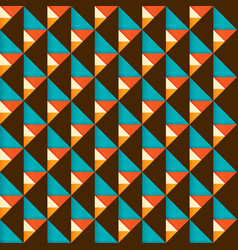 geometric shape modern retro vintage abstract vector image