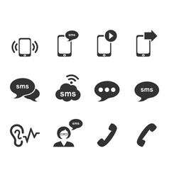 Message an icon vector