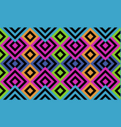 seamless crazy colored tile or background with vector image