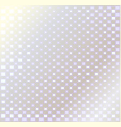 silver background with squares vector image