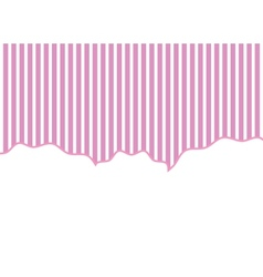 striped background pink and white vector image
