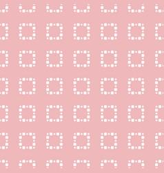 subtle pink minimalist seamless pattern vector image