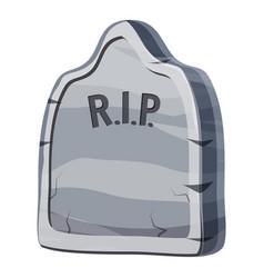 grave icon cartoon style vector image