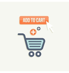 Add to cart vector