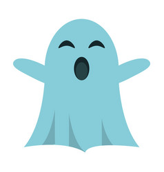 ghost april fools s day vector image