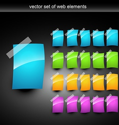 shiny pages vector image