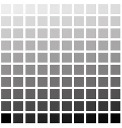 Black and white square checkered gradient vector