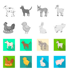 breeding and kitchen sign vector image