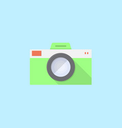 camera icon set of great flat icons use for vector image