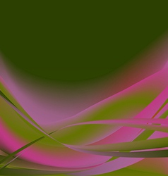 Colorful flower isolated abstract background dark vector