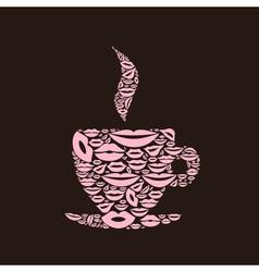 Cup a lip vector