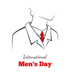 International mans day vector