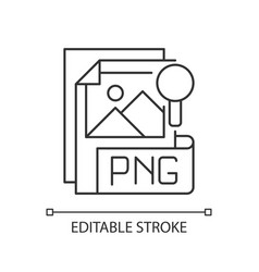 Png file pixel perfect linear icon vector