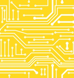 Seamless background on computer board vector