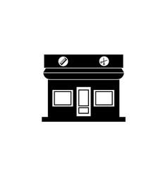 the barbershop building icon vector image