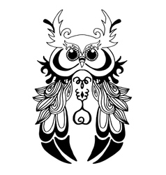 Very High quality owl or filin for coloring or vector