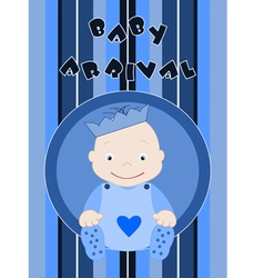 Baby arrival vector image vector image