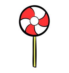 candy icon cartoon vector image