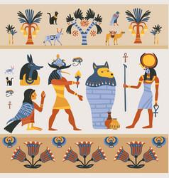 Ancient egyptian vector