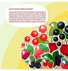 Berry text vector