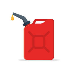 Canister gasoline with a drop fuel vector
