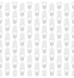 Contour energy saving lamp pattern vector