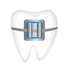 dental healthcare treatment icon vector image