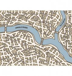 Generic streets vector