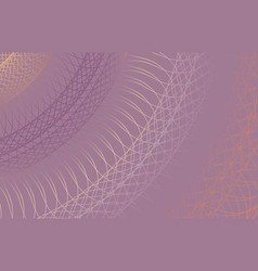 Guilloche background thin wavy lines for vector