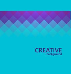Mosaic background creative design template vector