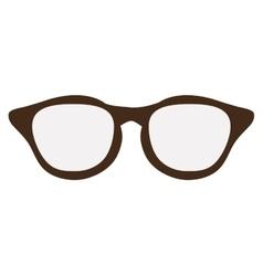 Regular classic glasses vector