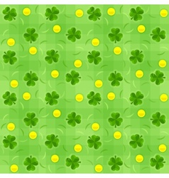 Saint patricks day shamrock vector image