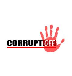 Stop corruption 4 vector
